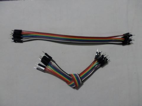 Cable Dupont Macho a Macho para prototipado 10pcs