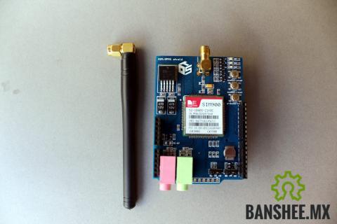 GPRS/GSM Shield SIM900 Arduino (Celular Shield)