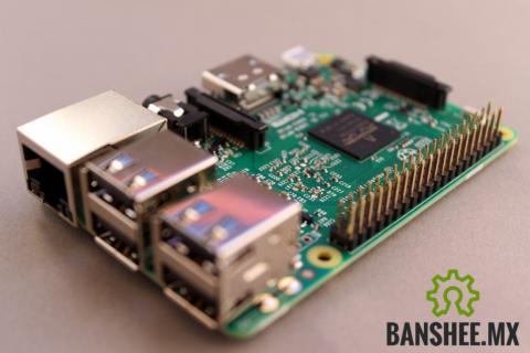 Raspberry PI 3 Modelo B ARMv8 1.2GHz 64 bits 1GB Ram WiFi y Bluetooth 4.1 BLE