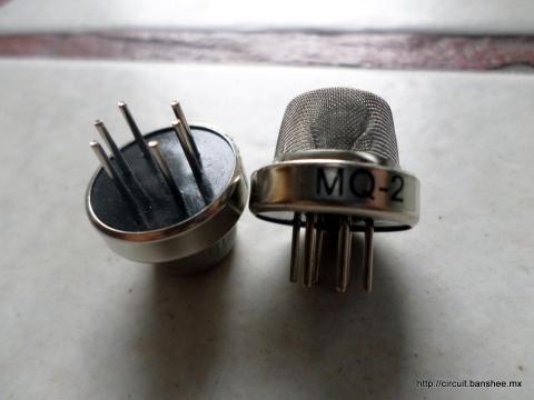Sensor de Humo MQ-2 LPG i-Butano Propano