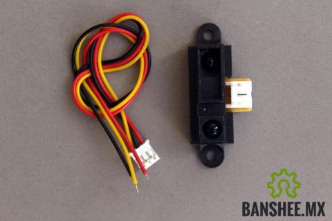Sensor de Distancia Infrarrojo GP2Y0A21YK0F