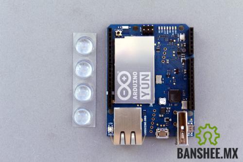 Arduino Yun Original Atmega32u4 Atheros Linux con WiFi y Ethernet