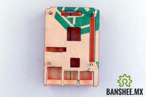 Carcasa Raspberry Pi B+ y Pi 2/3 Modelo B Acrilico de Colores PiBow