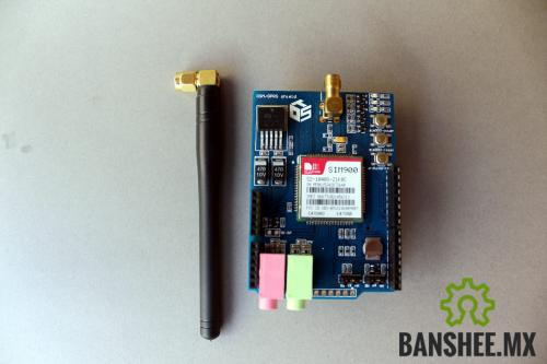 GPRS/GSM Shield SIM900 Arduino (Celular Shield)