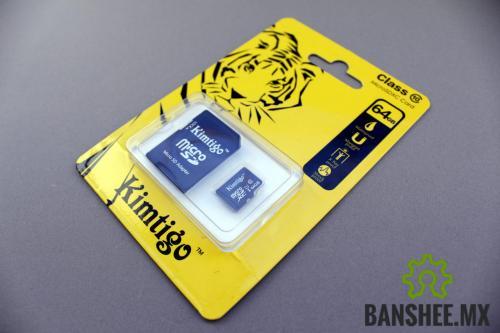 Memoria Micro SD 64GB Clase 10 con Raspbian Instalado p/Raspberry