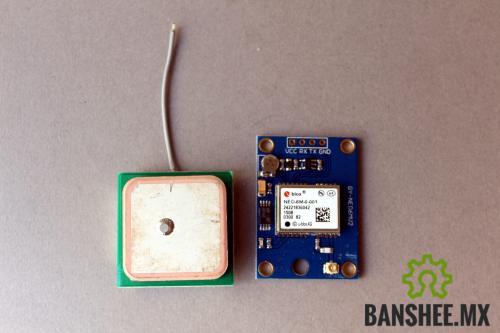 Modulo GPS UBLOX NEO-6M con antena
