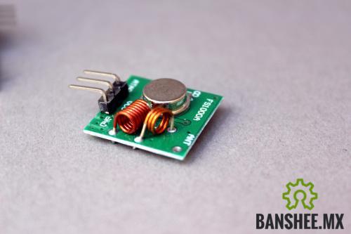 Emisor RF 315-433Mhz XY-FST-5v http://banshee.mx