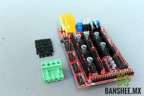 Shield Controlador Ramps 1.4 Impresora 3D Prusa CNC para Arduino Mega