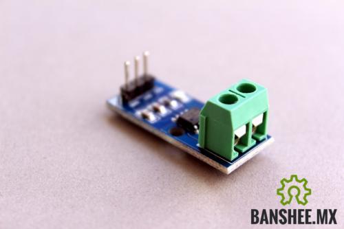 Sensor de Corriente ACS712 Efecto Hall Amperimetro