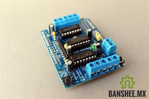 Motor / Servo Shield para Arduino L293D