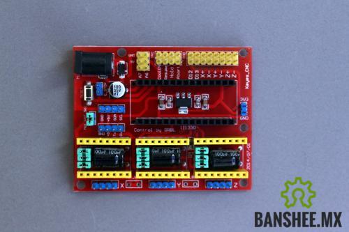 CNC Shield V4 de 3 Ejes Arduino Nano GBRL Compatible