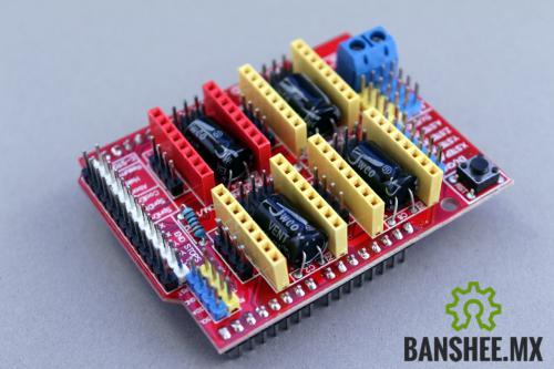 CNC Shield V3.1 de 4 Ejes Arduino GBRL Compatible