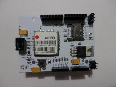 Atwin LinkSprite GSM/GPRS Shield cuatribanda para Arduino