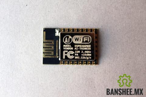 Modulo WiFi ESP-12e esp8266 Antena PCB y 11 GPIO