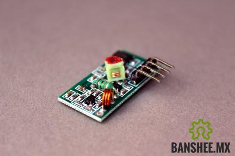 Receptor RF 433Mhz XY-MK-5v http://circuit.banshee.mx