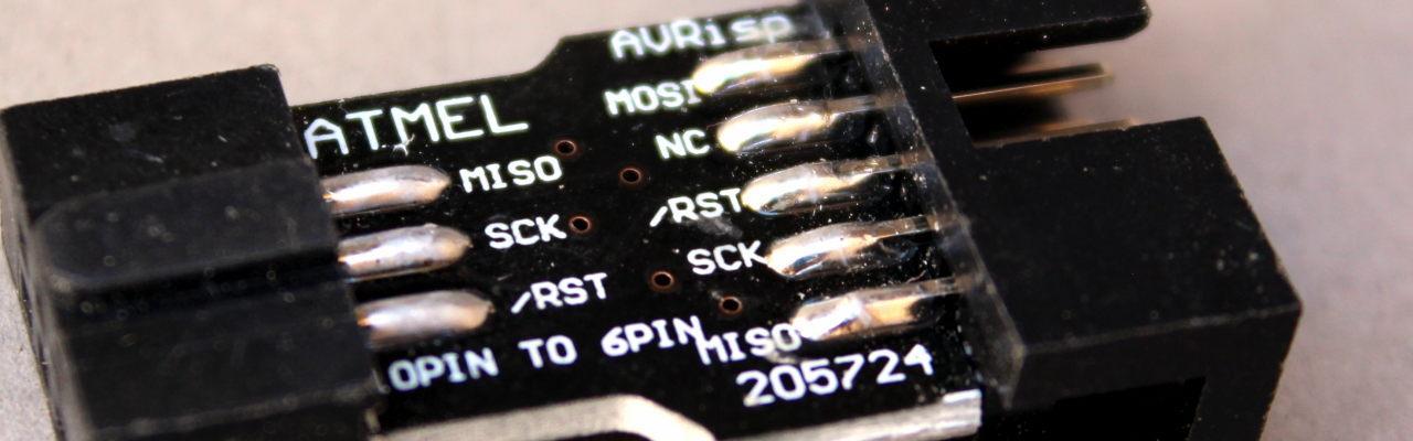 Adaptador AVR ISP de 10 a 6 pines