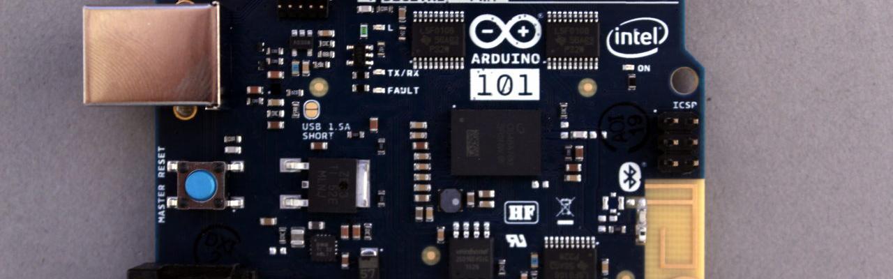 Arduino/Genuino 101 Intel Curie 32 bit 2 nucleos 32MHZ