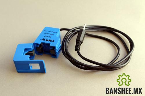 Sensor de Corriente Alterna / Amperes (Amperimetro) SCT013 de Gancho