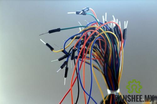 65 Cables Dupont Macho a Macho para prototipado