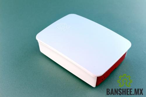 Carcasa Raspberry Pi B+ y Pi 2/3 Oficial Blanco/Rojo