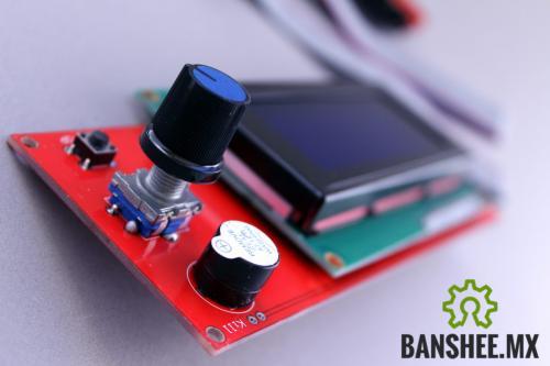 Modulo de Control Ramps 1.4 Impresora 3D  Display 2004 y Lector de SD