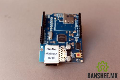 Ethernet Shield para Arduino W5100
