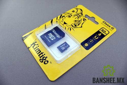 Memoria Micro SD 32GB Clase 10 con Raspbian Instalado p/Raspberry