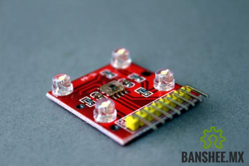 Sensor de Color TCS3200 (mejora TCS230)