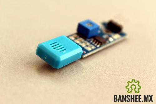 Sensor de Humedad Resistivo HR202 Base PCB