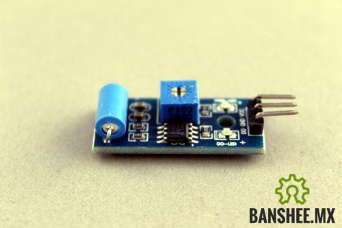Sensor de Vibracion Normalmente Cerrado SW-420