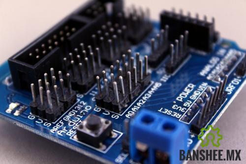 Sensor Shield Expansión V5.0 Arduino UNO Leonardo R3