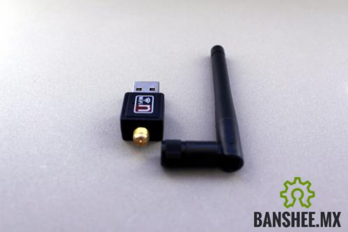 Wi-Fi USB Dongle Antena Externa b/g/n 150Mbps Largo Alcance